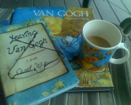 Small collection of things belonging to an ardent Vincent van Gogh afficionado.