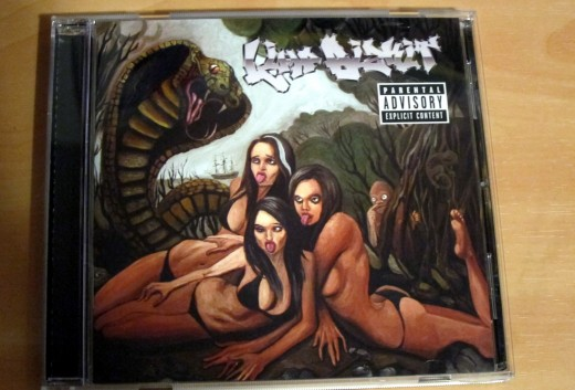 I took a gamble and bought the new Limp Bizkit CD tonight.  That was a bet that I would have been better off not making.