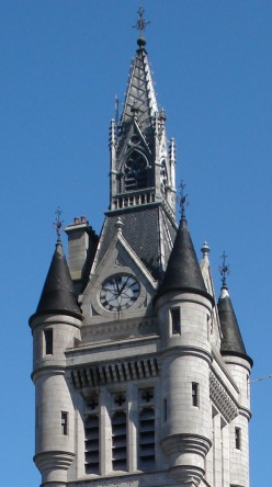 Town House, top of West Tower, Aberdeen