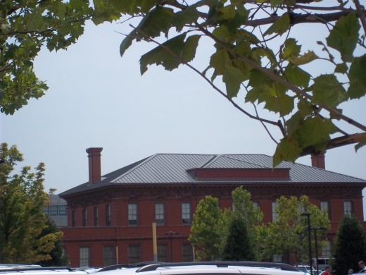 Old Choctaw Train station, restored in use as by the Clinton School of public service