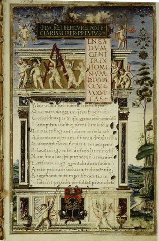 De Rerum Natura by Lucretius