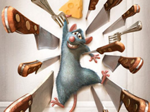Ratatouille Coloring Pages Color Example