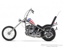 """Capt. America chopper from the film """"Easy Rider"""""""