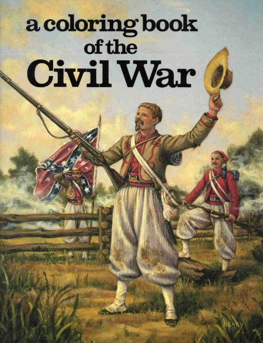 U.S. Civil War Coloring Pages Color Example