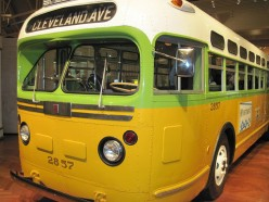 The Rosa Parks Bus at the Henry Ford Museum.