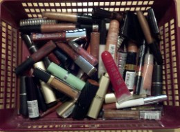 "Does your ""wrong lipstick color"" collection look like this?"