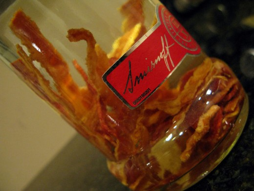 Another way to get your daily nitrites, Bacon Vodka