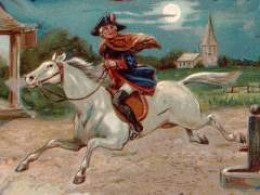"Paul Revere and others warn the colonists ""the British are Coming"""
