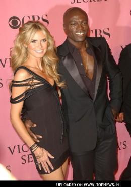 Interracial couple Heidi Klum and Seal