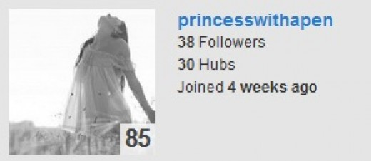 princesswithapen on HubPages