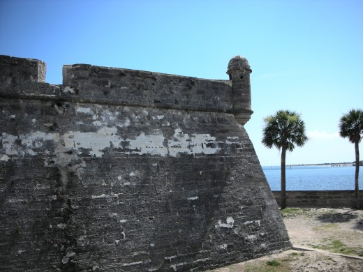 out side Castillo de San Marcos