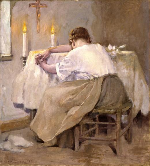 Her First Born, Robert Reid, 1888.