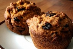 Easy Muffin Recipe With Cranberry Sauce and Bran