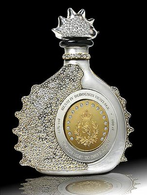 A diamond encrusted work of art, containing Henri IV Dudognon Heritage cognac - photo from most-expensive.net