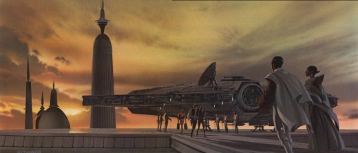 Art by Ralph McQuarrie