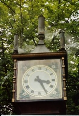 Famous Gastown steam clock