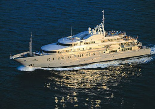 Luxury yacht from best-cruises.eu