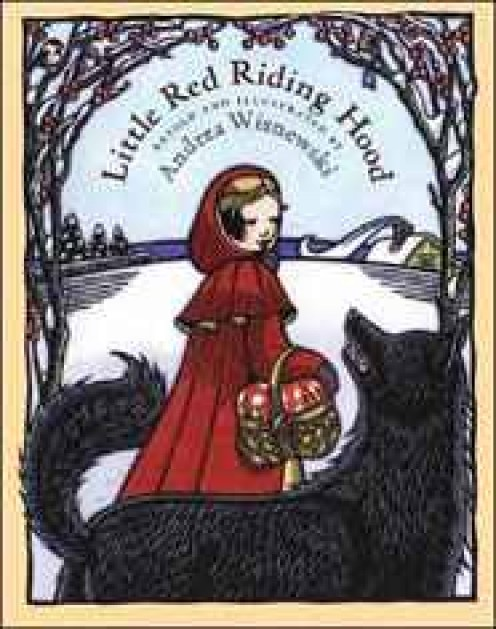 Little Red Riding Hood by Andrea Wisnewski is one version you might try reading to your child to help teach stranger danger