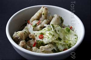 Souse: a kind of broth that's usually made with pig or chicken feet.