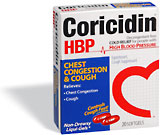 Coricidin HBP capsules are the most commonly abused OTC product