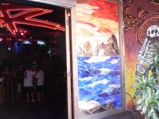 Take a peek into Cabo Wabo's dance club!