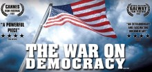 "If there was a democracy under siege, it is the one we are now experiencing and seeing take place in the United States and other big small ""D"" democracies"