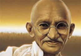 Gandhi - A man of his convictions and great courage