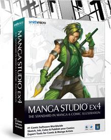 Make your life easier with digital comics and check out Manga Studio!