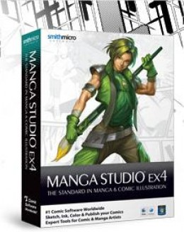 Make your life easier with digital comics and check out Manga Studio!