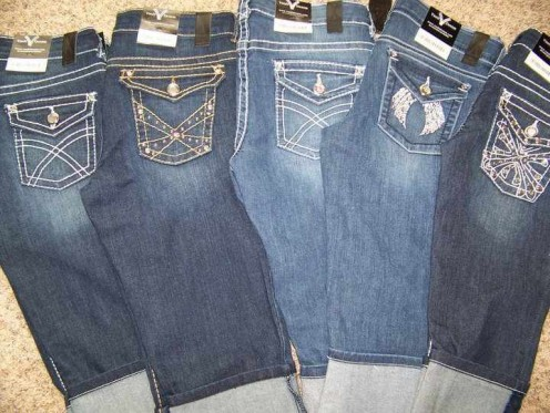 A great assortment of designer denim jeans can be your path to selling designer jeans at in home parties!