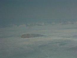 Hans Island in Winter
