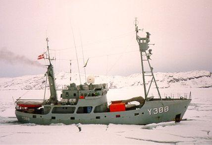 Danish arctic patrol cutter TULUGAQ