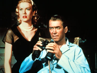 Jimmy Stewart made four films total with Hitchcock, Rear Window being the second.