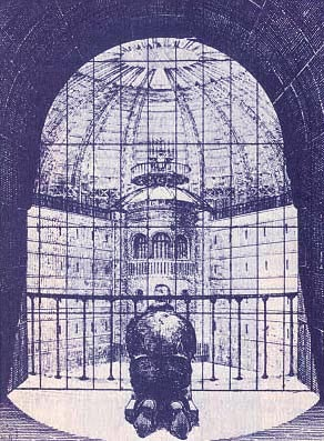 """""""The Panopticon is a marvelous machine which, whatever use one may wish to put it to, produces homogeneous effects of power.""""- Michel Foucault"""