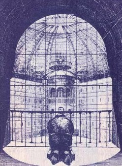 Foucault's Panopticon and the Creation of Docile Bodies