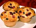 How to make Cranberry Muffins and Cranberry Upside Down Muffins