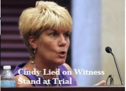 Cindy Anthony is a deceitful, controlling, and manipulative woman