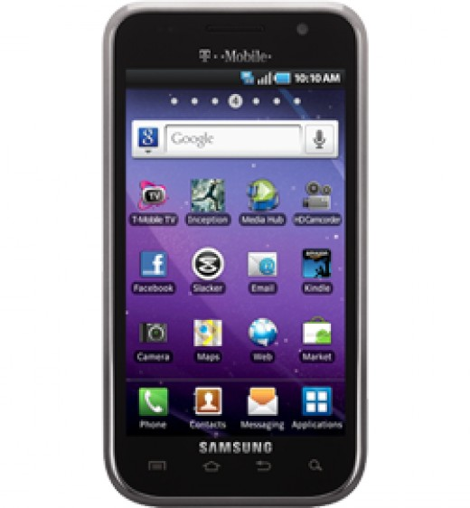 "Samsung Galaxy S 4G, relatively average ""4G"" Android phone"