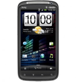HTC Sensation 4G, the most powerful phone on T-Mobile right now, dual-core CPU and hi-res screen.