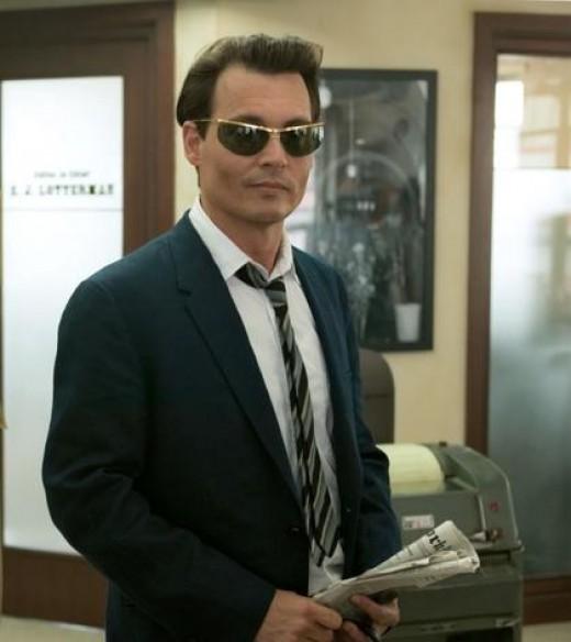 Johnny Depp as Paul Kemp in the adaptation.