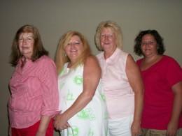 Judy Reynolds,Donna Cantrell,Martha Sanderson,Rebecca May