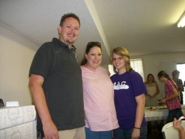 Mark Terry, Kellie  & Martha