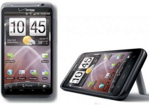 HTC Thunderbolt 4G LTE phone from Verizon, blazing fast, but pricey