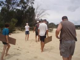 Anyone for Sandboarding?