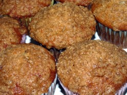Delicious Spiced Banana Crumb Muffins