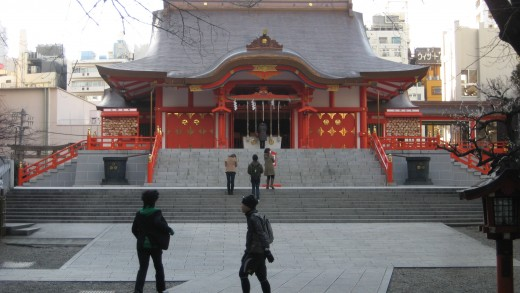 Hanazono Shrine - near Golden Gai and 5 minutes walk from Sunlite hotel