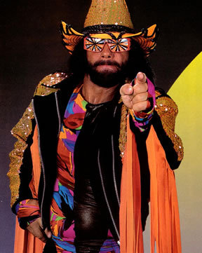 Randy Savage also known as Macho Man