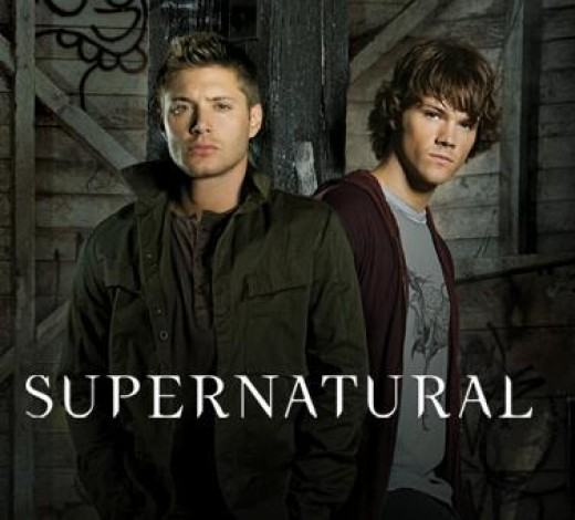 Jensen Ackles as Dean Winchester and Jared Padalecki as Sam Winchester