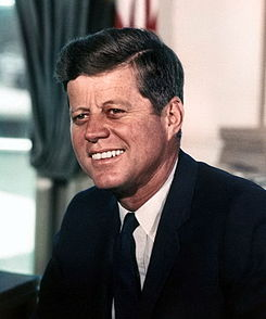 PRESIDENT JOHN F. KENNEDY POTUS # 35, 1960 - 1963