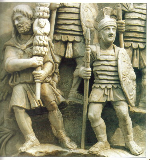 Traditional Roman Soldiers Garb